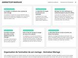 Animateur Mariage